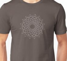 Crown chakra - warm grey Unisex T-Shirt