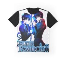 Blue Exorcist -Brother's Rin & Yukio Graphic T-Shirt