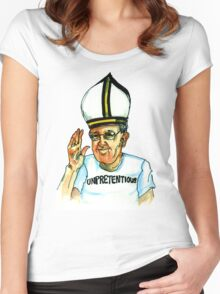 Pope Women's Fitted Scoop T-Shirt