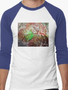 Water drops 3 Men's Baseball ¾ T-Shirt