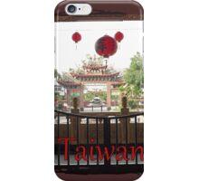 Taiwan-Temple Stamp iPhone Case/Skin