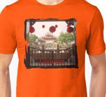 Taiwan-Temple Stamp Unisex T-Shirt