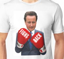 Fight Back, David Cameron Unisex T-Shirt