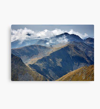 High mountains Canvas Print