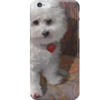 """""""Tinkerbell on Floral Chair"""" iPhone Case/Skin"""