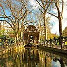 The Medici Fountain in Spring by Alex Cassels