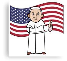 Pope Canvas Print