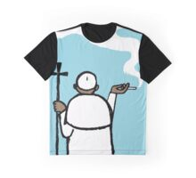 Pope Graphic T-Shirt