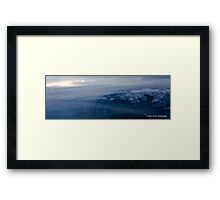 About the Rocky Mountain Clouds Framed Print