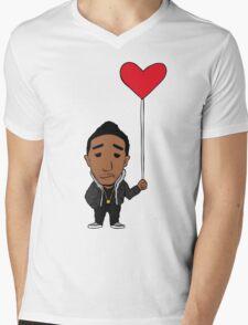 Lonely Heart Mens V-Neck T-Shirt