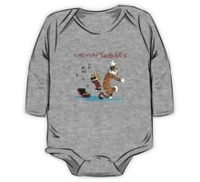 Calvin And Hobbes Dancing One Piece - Long Sleeve
