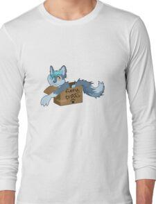 You're furry trash! Long Sleeve T-Shirt