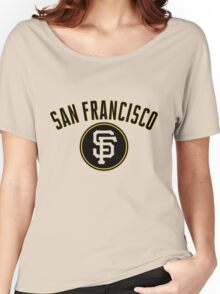 San Francisco Giants Women's Relaxed Fit T-Shirt
