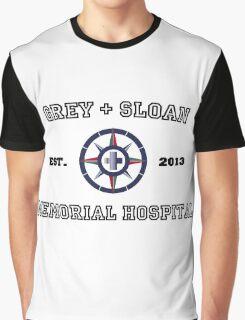 Grey + Sloan White Graphic T-Shirt