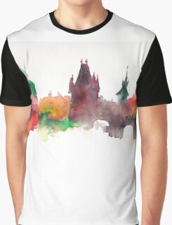 Prague Panorama Graphic T-Shirt