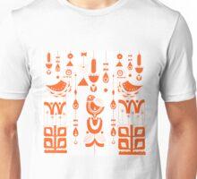 Danish Sun Birds and Flowers Unisex T-Shirt