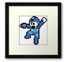 Mega-Man Framed Print