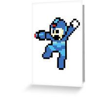 Mega-Man Greeting Card