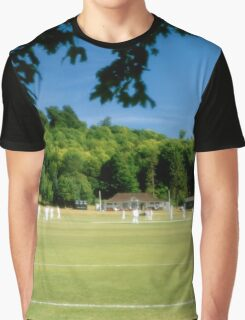 Cricket match, Tidworth, Wiltshire, England Graphic T-Shirt