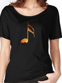 Notes-Sunset Women's Relaxed Fit T-Shirt