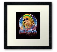 Hey-Mon Framed Print