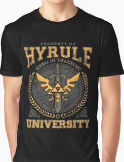 Hyrule University Graphic T-Shirt