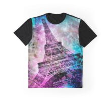 Pop Art Eiffel Tower Graphic T-Shirt