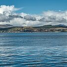 Scottish Panorama over the River Clyde by Jeremy Lavender Photography