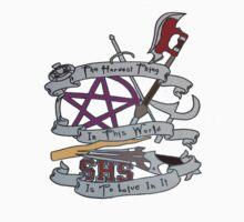 Buffy Design One Piece - Short Sleeve