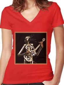 Metal Band ~ Part Two Women's Fitted V-Neck T-Shirt