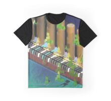Riverside Demi-Normal Railway Graphic T-Shirt