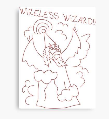 Wireless Wizard Canvas Print