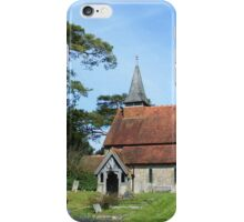 """Nestling at the foot of the Southdowns"" iPhone Case/Skin"