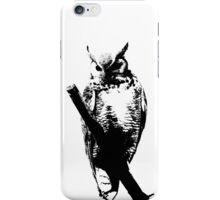 owl t-shirt iPhone Case/Skin