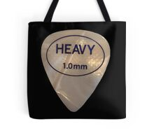 Rock & Roll Guitar Pick - Heavy Tote Bag