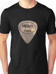 Rock & Roll Guitar Pick - Heavy Unisex T-Shirt