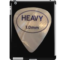 Rock & Roll Guitar Pick - Heavy iPad Case/Skin