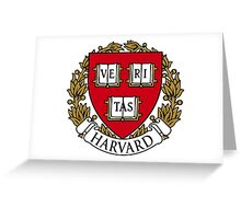 Harvard Greeting Card