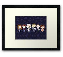 BTTF CutiEs Framed Print