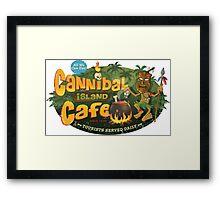 Cannibal Island Cafe Framed Print