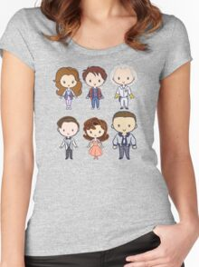 BTTF CutiEs Women's Fitted Scoop T-Shirt