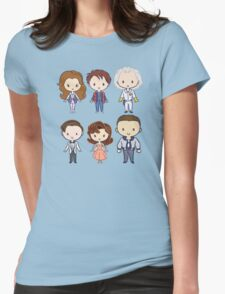 BTTF CutiEs Womens Fitted T-Shirt