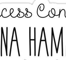 Friends - Princess Consuela Banana Hammock Sticker