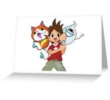 Yokai Watch : Anime 1 Greeting Card