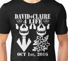 David and Claire 4 Life - #BKClub Unisex T-Shirt
