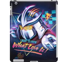 I Want to Know What Love Is iPad Case/Skin