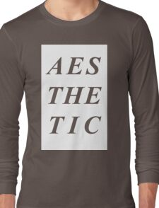 AESTHETIC Long Sleeve T-Shirt