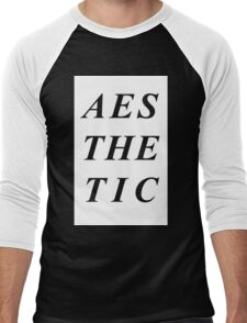 AESTHETIC Men's Baseball ¾ T-Shirt