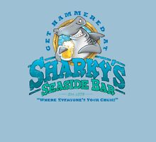 Sharky's Seaside Bar Unisex T-Shirt
