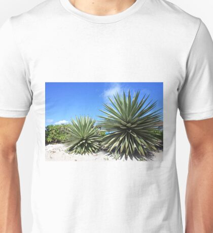 Aloe Vera plant at the beach Unisex T-Shirt